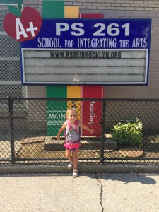 Your first day of Pre-K at ps261
